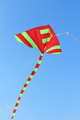 Beautiful kite in a kite festival