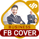 Business Solution FB Cover Template