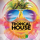 Tropical House Flyer Template