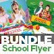 Junior School Admission Flyer Bundle