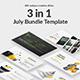 July Bundle Keynote Template