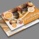 Bakery Postcard Template
