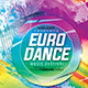 Euro Dance Music Festival Flyer Template