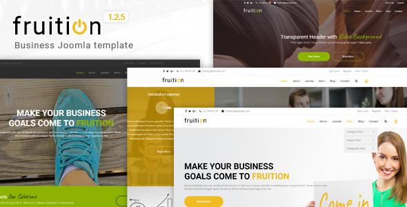 Fruition - Business Joomla Template