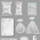 Big Set Of Polypropylene Plastic Packaging