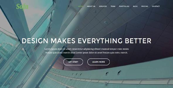 Safa - Multipurpose Business / Agency Template