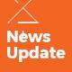 News Update Blog - PSD Template
