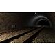 5 Rendered Train Tunnel Scenes