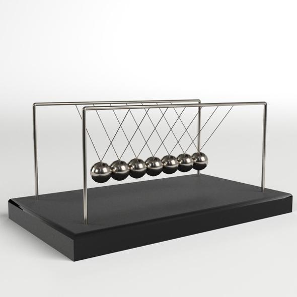 3DOcean Newton's Cradle 20221528