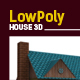 Lowpoly 3D House