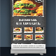 Food Roll-up Banner 3