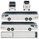 Coach Bus Vector Template