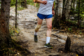 Man Running Mountain Marathon