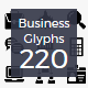 220 Business Material Icons