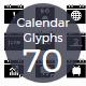 Calendar Material Icons
