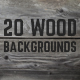 20 Beautiful Wood Backgrounds / Textures