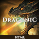 Dragonic: The Ultimate One-Page Premium Gaming Template (Technology)