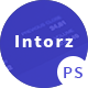 Introz - Training,Coaching Business PSD Template
