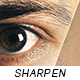 Sharpen Retouch Action