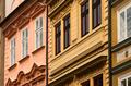 Old Town buildings facades