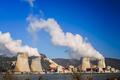 Big polluting factory