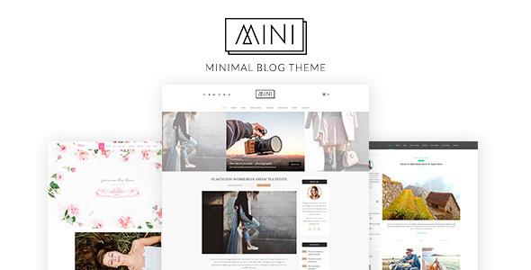 Mini Blog - Minimal Blog Theme