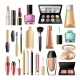 Decorative Cosmetics for Make Up