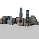 10 Detailed Low Poly Buildings Pack
