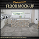 Photorealistic Floor Mock-Up Kitchen