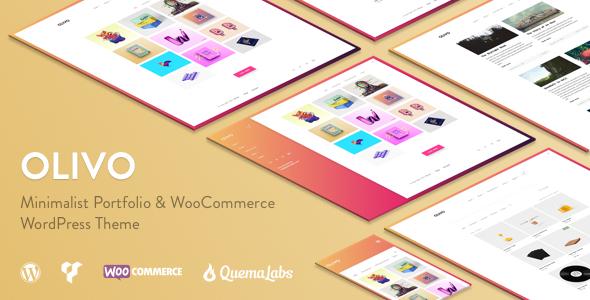 Download Olivo - Minimalist Portfolio & WooCommerce Theme