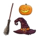 Hand Drawn Halloween Symbols