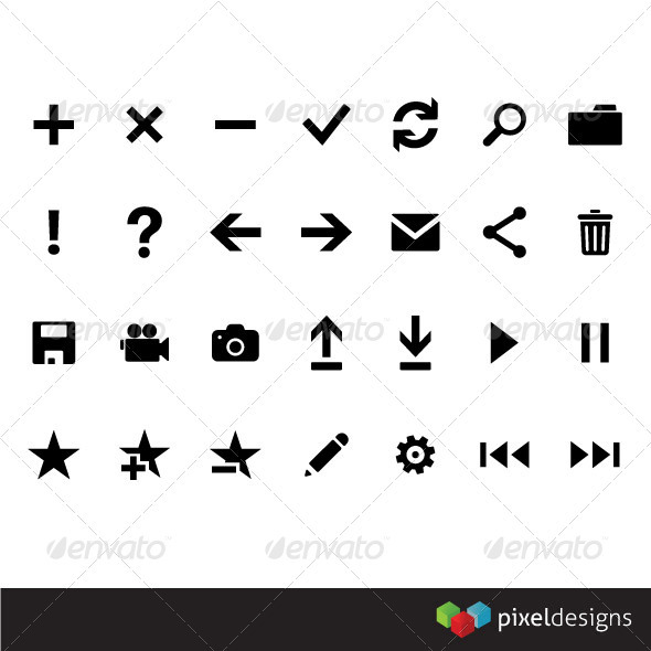Metro Framework icons - Software Icons