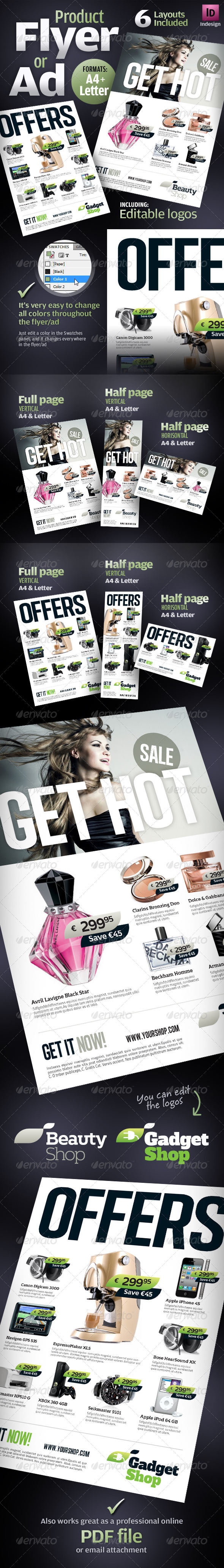 GraphicRiver Product Flyers Ads 1980454