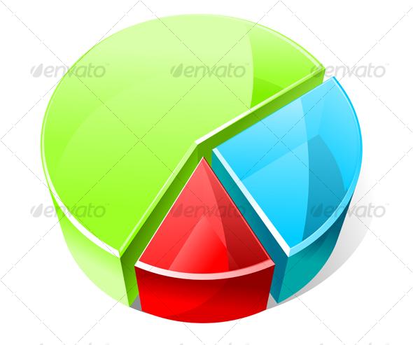 GraphicRiver Color graph for design 76152