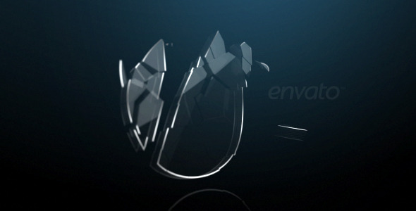 VideoHive Glass Logo 1984440