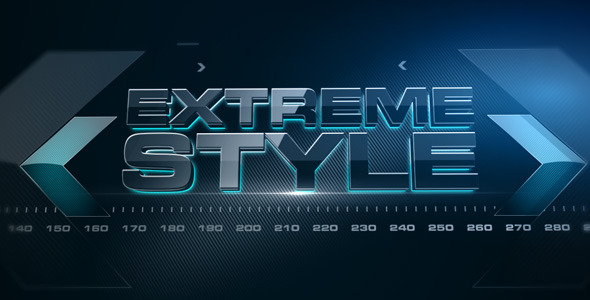 After Effects Project - VideoHive Extreme Style 1984613