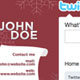 Christmas Twitter Background