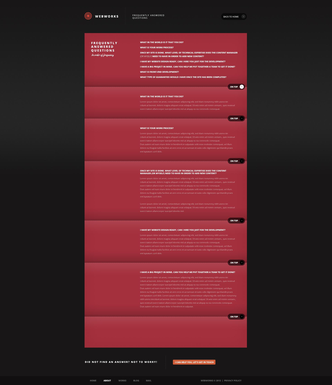 Webworks - Creative PSD Template