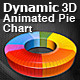 Dynamic 3D Animated Pie Chart - ActiveDen Item for Sale