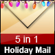 Holiday Mail - 5 COLORs - ThemeForest Item for Sale