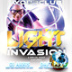 Light Invasion Flyer Template - GraphicRiver Item for Sale