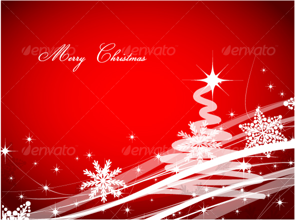 GraphicRiver Christmas background 76311