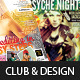 Club & Design Magazine Style Flyer Templates Vol.4 - GraphicRiver Item for Sale