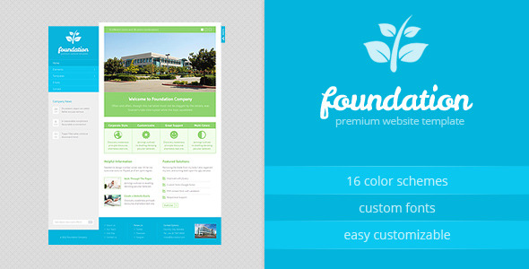 Foundation - HTML Template