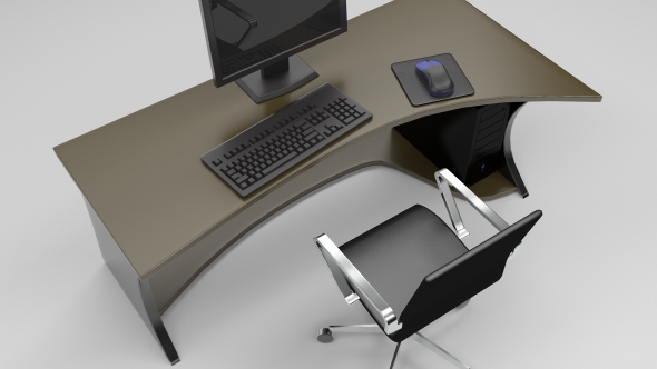 3DOcean Office Scene 75954