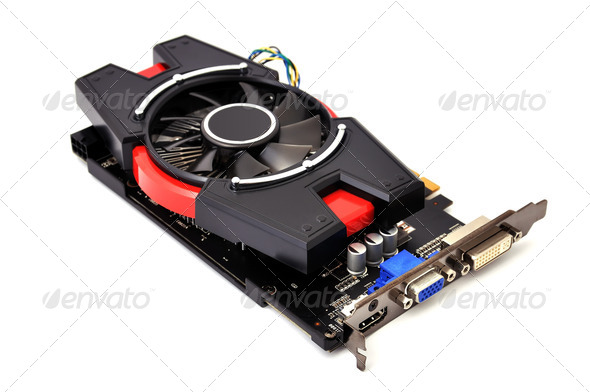 Computer graphic card - Stock Photo - Images