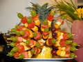 Arranged fruit
