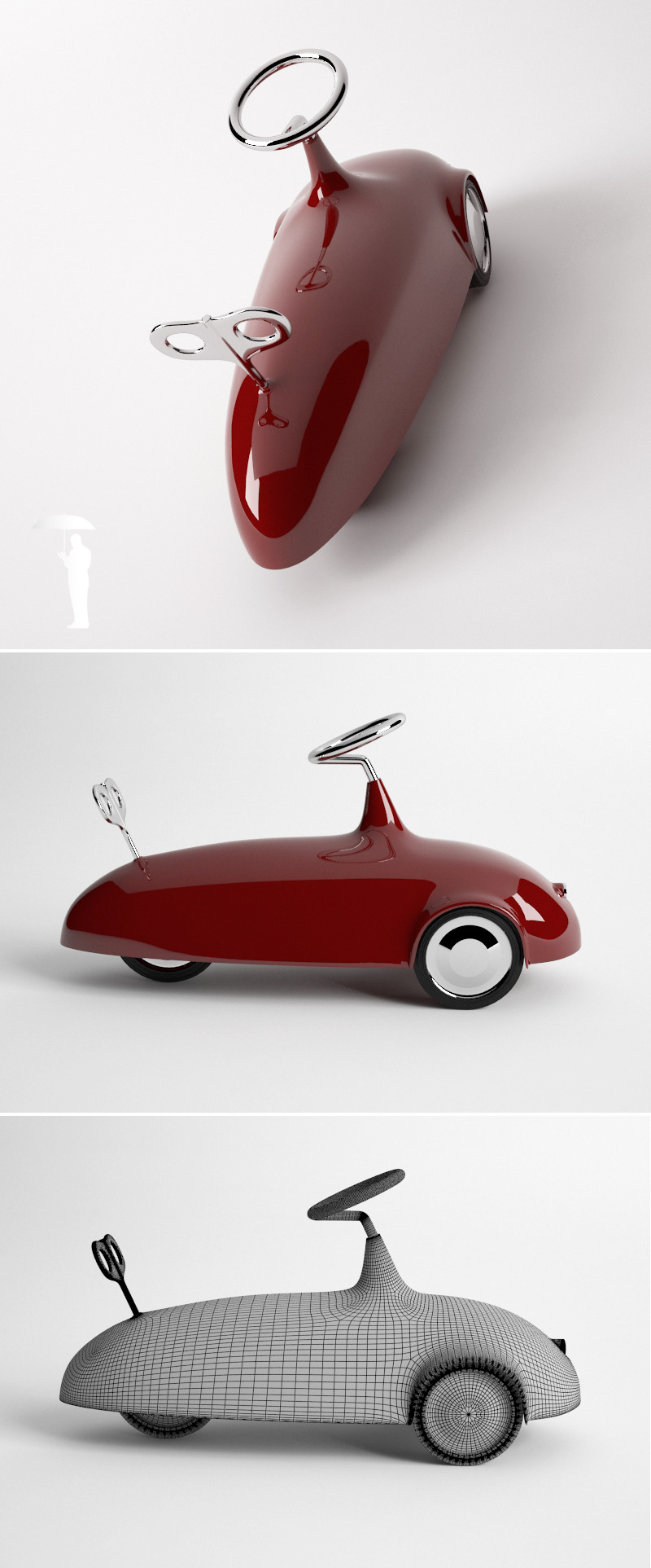 Konstantin B toy car