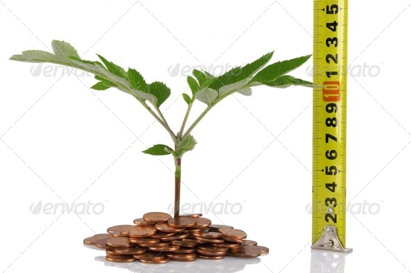 concept for business growth - Stock Photo - Images