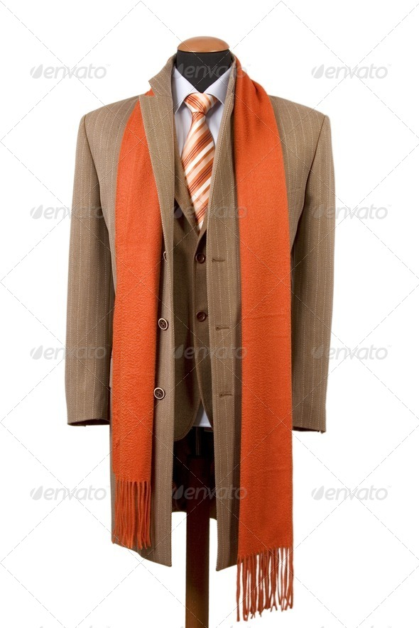 Business fashion, elegant suit - Stock Photo - Images